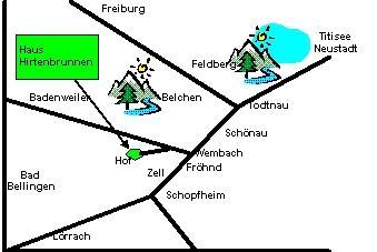 森林餐廳地圖