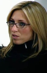 Kate Walsh from BBC's The Apprentice 2009 wearing glasses (GwG Fan) Tags: glasses kate bbc screencap ok theapprentice tvcap katewalsh oktv channel5presenter