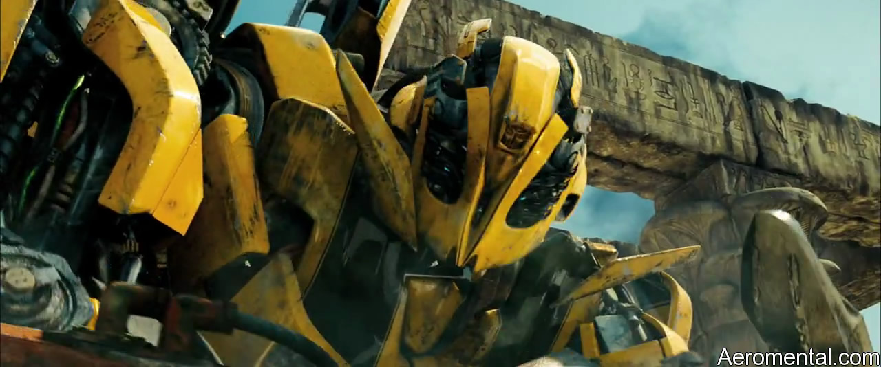 Transformers 2 Bumblebee máscara
