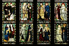 Morris & Co. stained glass - All Saints - Middleton Cheney