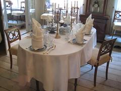 Une belle salle à manger