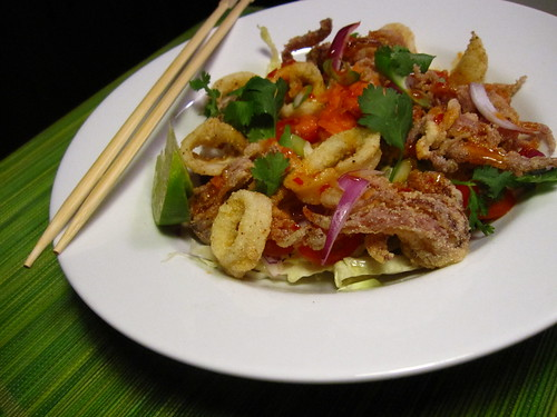 Crispy Thai Calamari Salad - Healthy? Kinda. Fresh? Definitely. | We ...