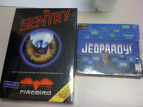 The Sentry (Atari ST) and Jeopardy! (CD-i) Sealed (2 of 2)
