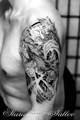 Starasian Tattoo Art - Dragon Jacky2 (starasian-tattoo) Tags: paris france japan tattoo ink asian azn japanese vietnamese dragon thanh bodyart bodmod japonais samourai asiatique tatouage asiatiques vietnamien starasian