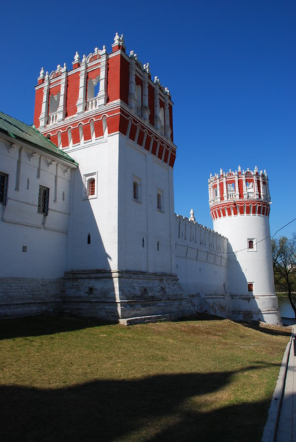 Novodevichy convent. Nothern wall