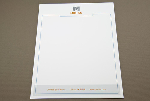Digital Technology Letterhead