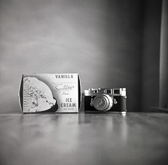 Creamy (patrickjoust) Tags: life camera leica bw usa white black 120 6x6 tlr blancoynegro film ice analog square lens table photography prime reflex still flickr box interior meta cream patrick twin maryland super scene baltimore v domestic 400 200 diafine epson medium format 500 metaphotography m3 80 joust developed ricoh biancoenero 80mm f35 blancetnoir leitz fomapan ricohflex v500 anastigmat schwarzundweiss autaut sanitarys patrickjoust