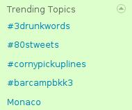 barcampbkk3 is trending topics!