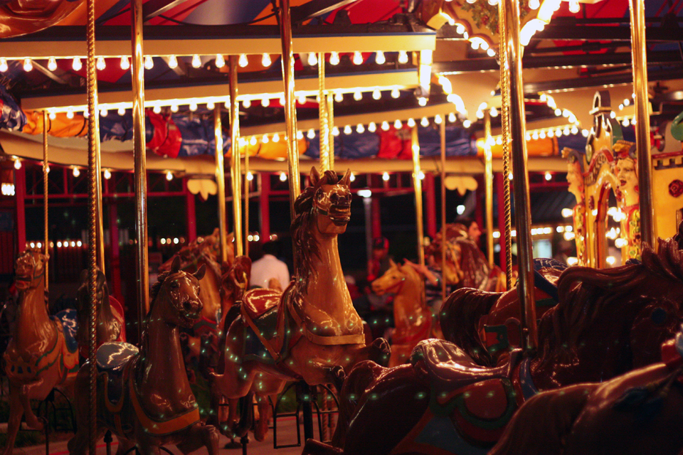Carosel by night