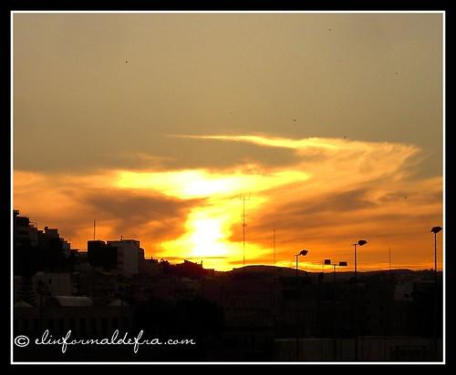 Atardecer en Melilla.2