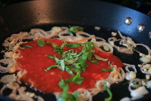 Chicken Parm w/ Zucchini Noodles
