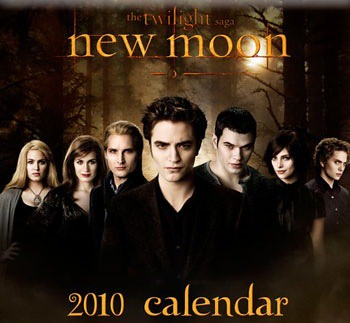 New Moon Wall Calendar with Full Cullen Family Image! by Luuuucia:).