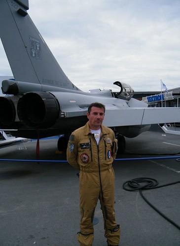 PARIS AIR SHOW 2009 / DEMONSTRATION RAFALE PILOT / SALON DU BOURGET 2009