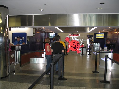 Southwest LGA Ticket Counter Kool Aid Man