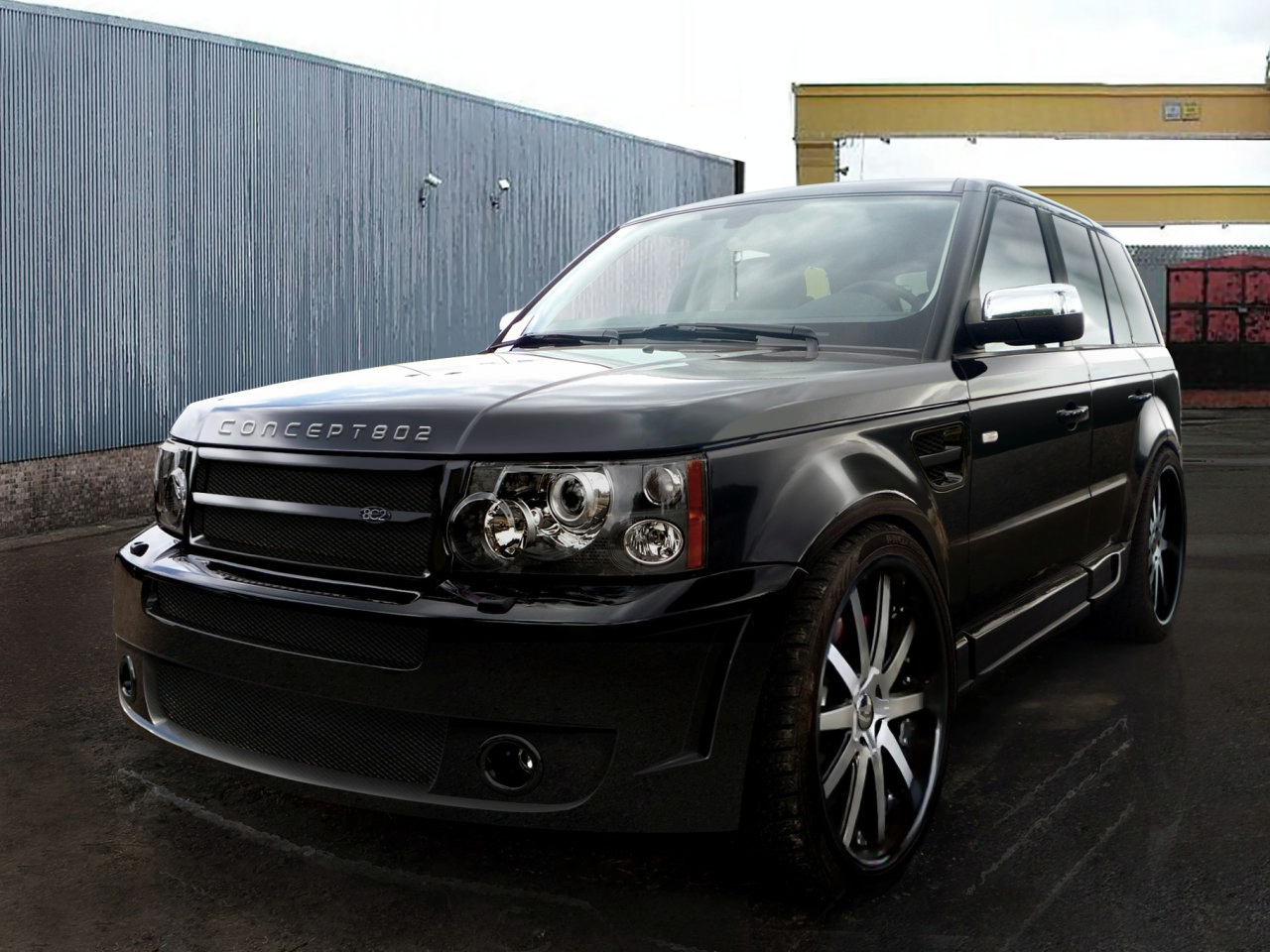 car, car modification, Range Rover Sport Modification