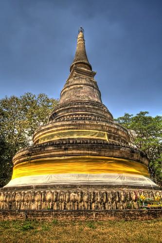 Chedi at Wat Umong Chedi