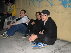 Riff-Raff X) (laconics) Tags: show brazil brasil concert saopaulo sp radiohead riffraff krafwerk justafest chacaradojockey