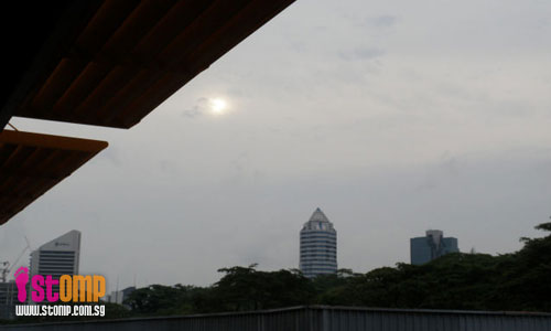 Is the haze back in Singapore?