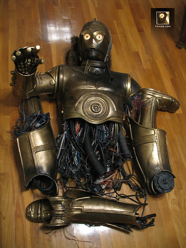 Tk409 Com Do It Yourself Star Wars Props C3po Costume