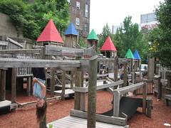 Play fort, Wheeling, W. Va., riverfront