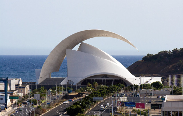 Auditorio de Tenerife, Canary Island, Spain, by jmhdezhdez