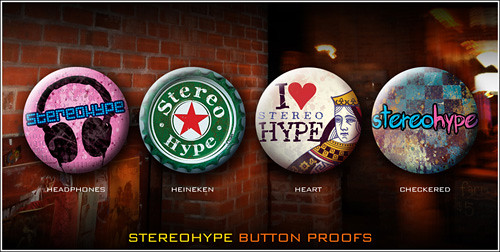 Stereo Hype & PureButtons - custom buttons