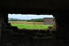hole in the wa' (Funki_Munki) Tags: abandoned army scotland greenock high mod war gun secret military wwii battery coastal ii ww2 ww derelict defence aa kilmacolm emplacement antiaircraft inverclyde secretscotland portglagow auchentiberroad mathernock