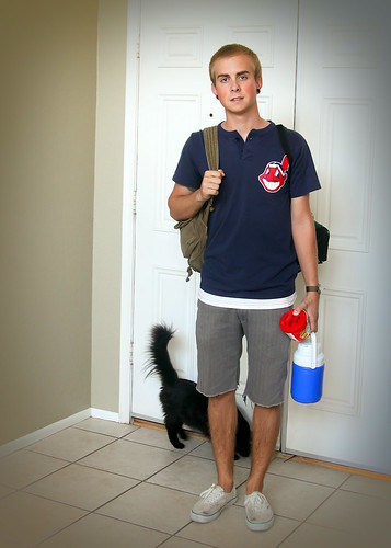 Josh first day