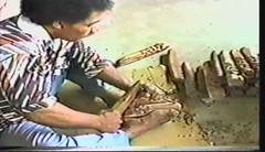 881114 Wood Carving (rona.h) Tags: november 1988 tonga woodcarving cloudnine nukualofa ronah