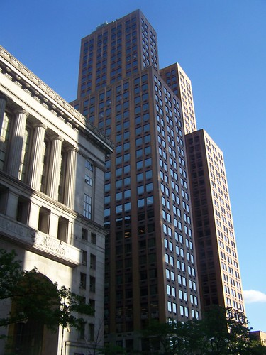 Tall buildings in Downtown Pittsburgh