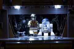 Sandcrawler (Marshal Banana) Tags: starwars lego ledlights moc ucs sandcrawler