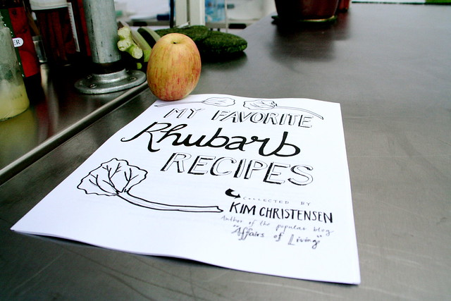 My Favorite Rhubarb Recipes