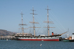 Old Ship (shaire productions) Tags: sf sanfrancisco old water bay sailing ship elements pirate sail