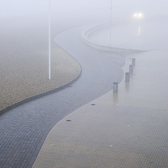 Fog on the front (Alex Bamford) Tags: sea beach fog brighton explore interestingness152 explored i500 alexbamford thebigbambooly wwwalexbamfordcom