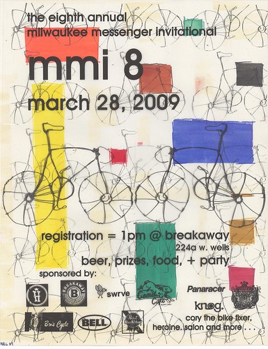Milwaukee Messenger invite 2009 flier