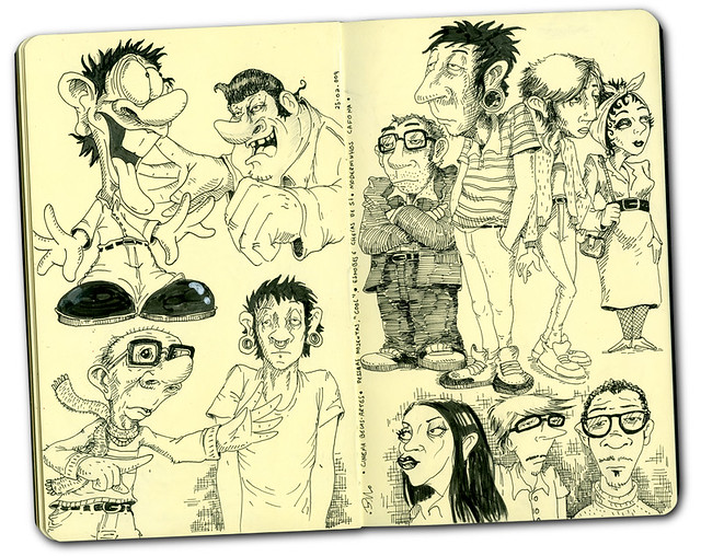 Sketch -  Weird People