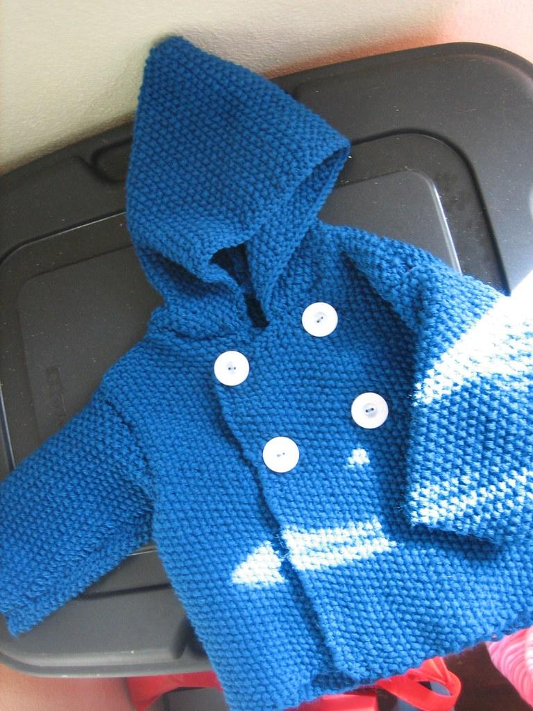 090301. baby seed stitch jacket.