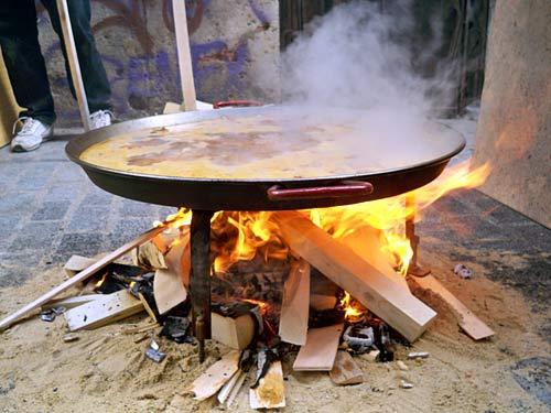 Paella-Fire