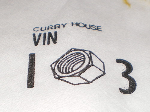 Indian Curry House Vin 103