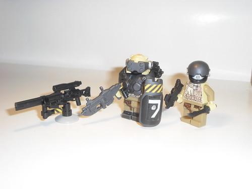 H013 elite trooper custom minifigs