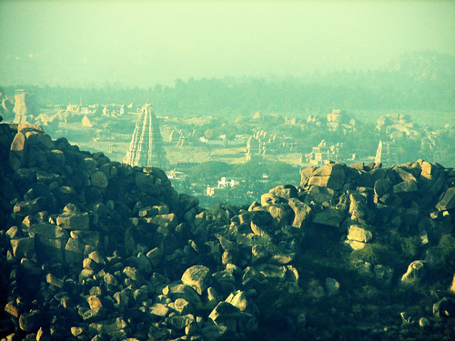 Hampi from Anjaneya Hill