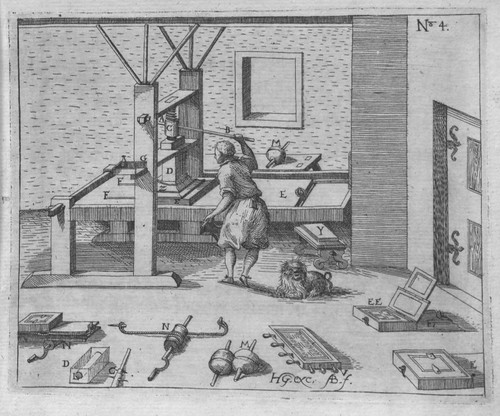 Heinrich Zeising - Theatri machinarum Erster - 1613 a