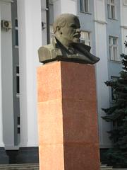 Lenin statue in Tiraspol, Transdniestr