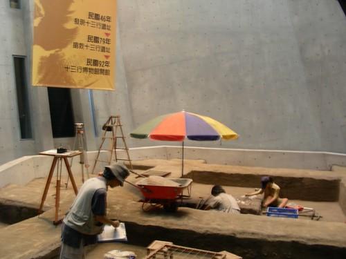 十三行博物館-考古學家