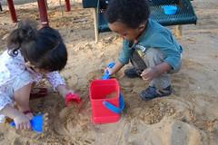 neighborhood fun (deidra_morrison) Tags: playing playground fun sand child play digging son dirt chilling napoleon neighbors no5