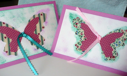 Spring fabric cards