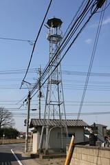 上久下戸の火の見櫓(川越市)
