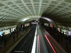 The Metro's Red Line (kafphotography) Tags: usa train washingtondc trains slowshutterspeed bigmomma thechallengegame challengegamewinner yourock1st