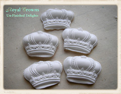 New Supplies: Un-finished Crowns!