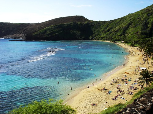 Hanauma Bay on Oahu Hawaii